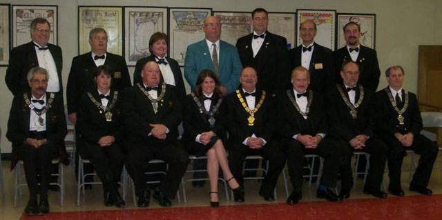 2009 - 2010 Officers and Trustees