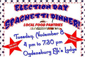 Election Day Spaghetti Dinner