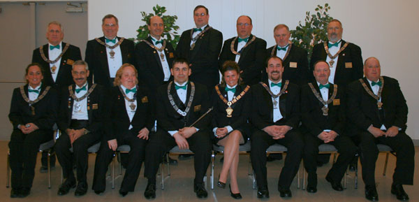 2007 Officers and Trustees