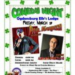 Comedy Night! St. Patrick's Day!